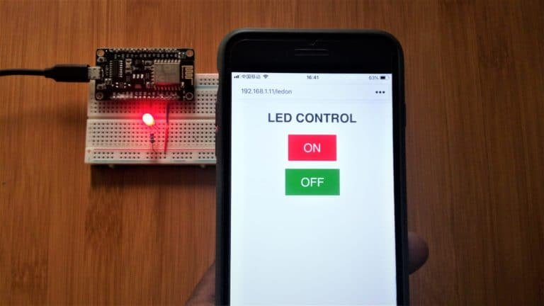 Nodemcu Webserver with Arduino IDE for controlling LEDs  - mytectutor