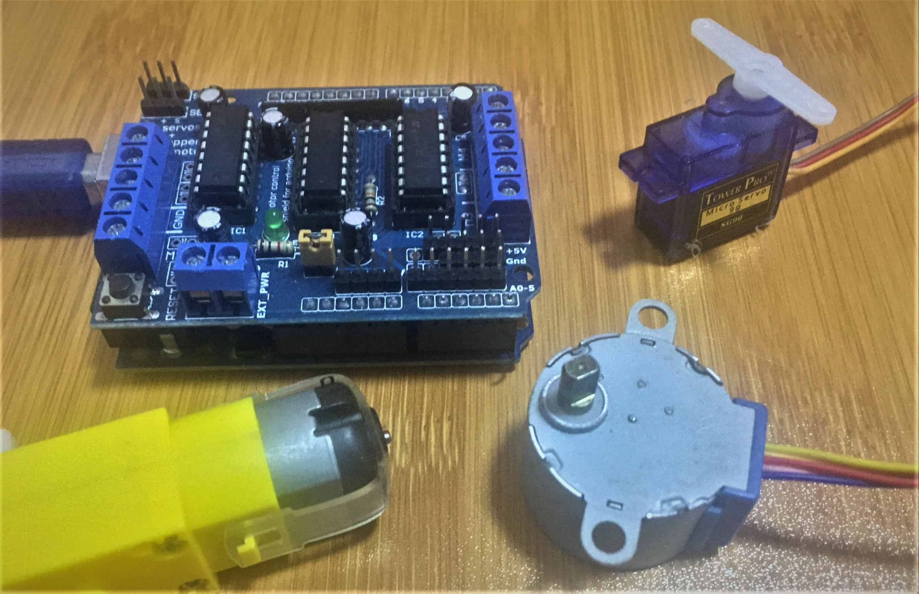 l293d motor driver shield cover