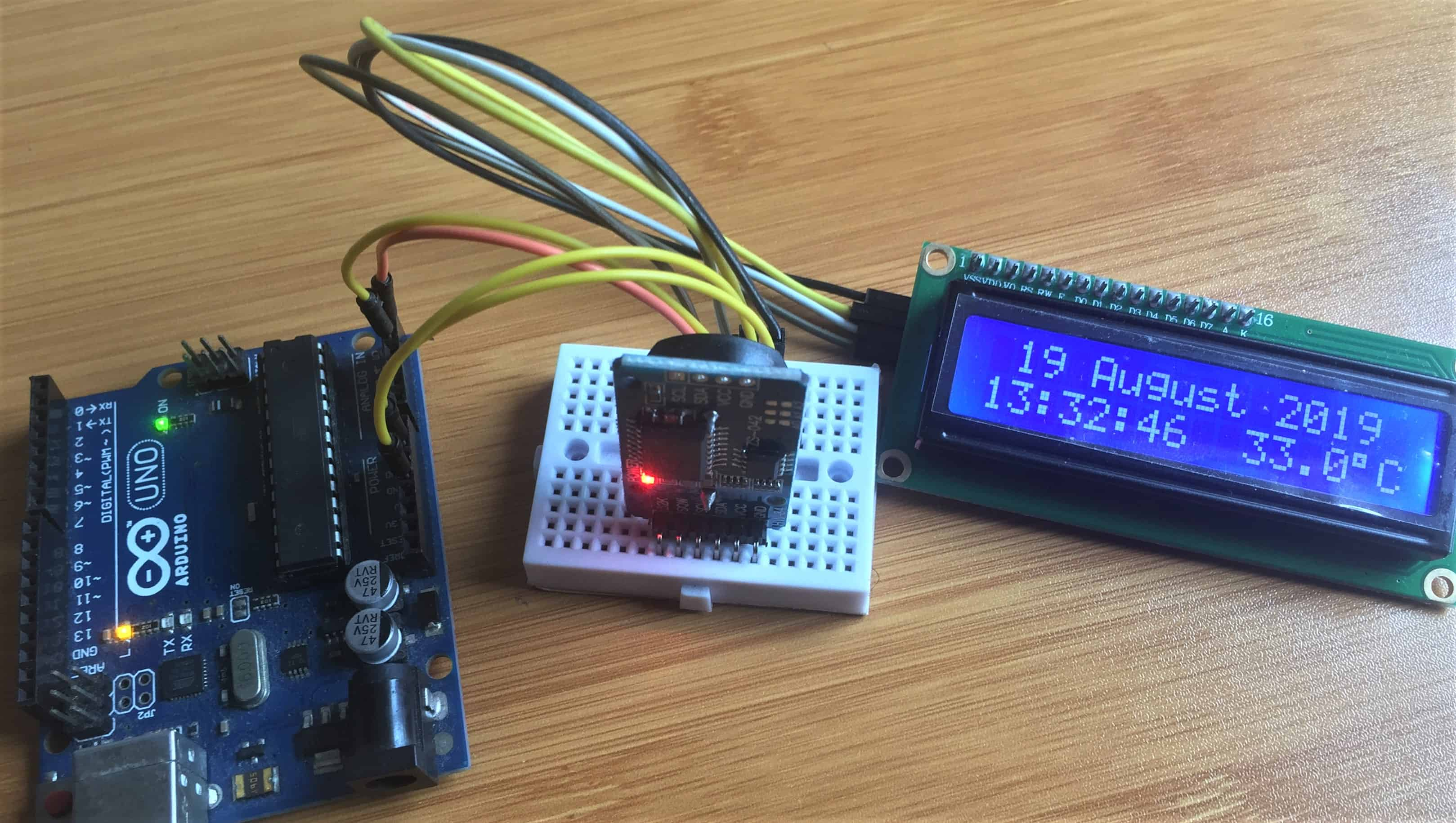 ds3231 rtc with arduino cover
