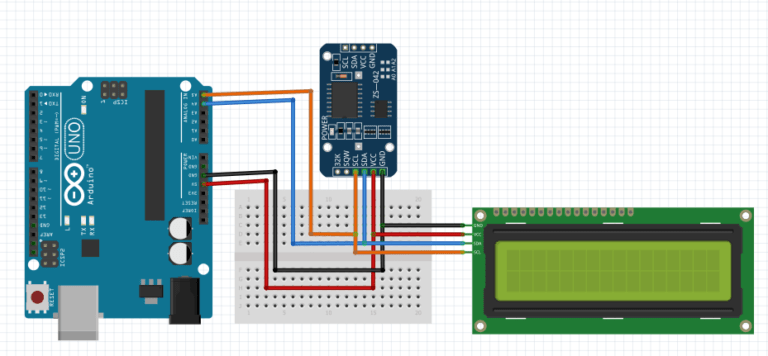 ds3231 rtc arduino with lcd