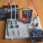 arduino ds3231 oled clock cover