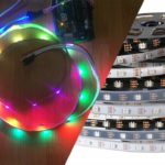 ws2812 led with arduino cover