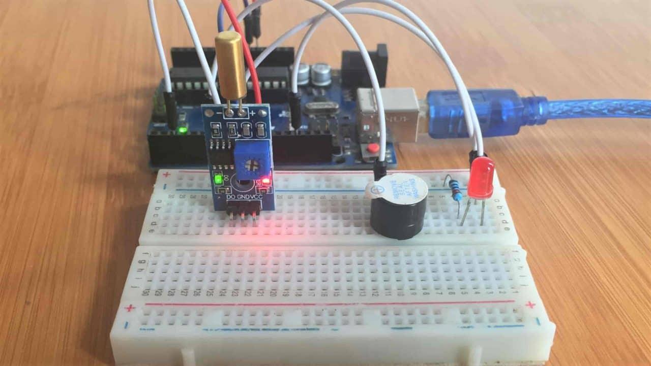 Tilt Sensor Interfacing with Arduino.