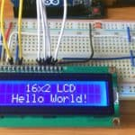 lcd display interfacing with arduino