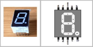 7 segment display hardware