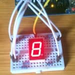 7 segment display with arduino