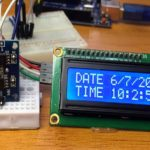 DS1307 RTC module with Arduino and I2C LCD